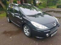Peugeot 307 SW 1.6 HDi 5dr LOW mileage 7 SEATES