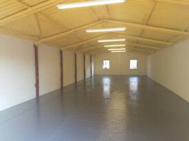 Storage Unit / Light Workshop / To Let / Rent between Romford & Brentwood Essex