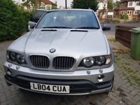 BMW X5 4.6 IS with nice red leather seats