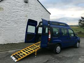 Fiat Doblo Diesel Allied Wheelchair Mobility Scooter Accessible Vehicle WAV Disabled