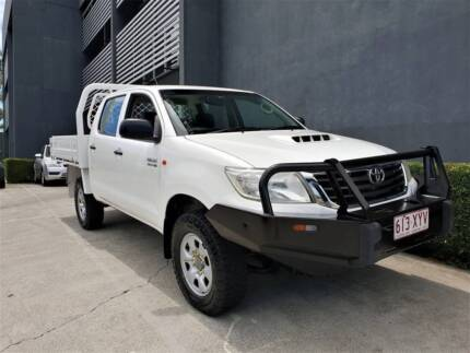 2013 Toyota Hilux SR 4X4 Diesel Manual Ute Rego RWC Southport Gold Coast City Preview