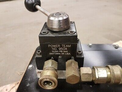 Pa6d Air-driven Hydraulic Pump Enerpac Otc