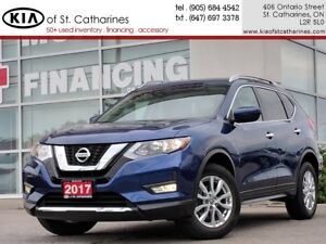2017 Nissan Rogue SV AWD | Backup Camera | Heated Seat