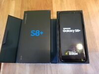 SAMSUNG S8 + PLUS UNLOCKED