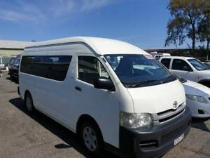 2010 Toyota Hiace Commuter Auto Van Yass Yass Valley Preview