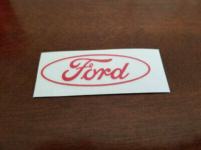 FORD Oval Logo Decal Any Size Any Colors Car Truck Laptop Ford Oval Decal