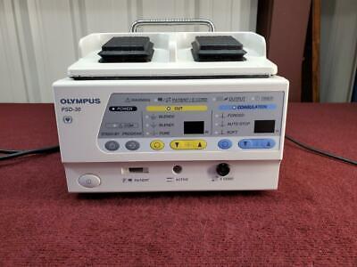 Olympus Psd 30 Esu Electrosurgical Unit Wfoot Pedal