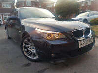 BMW 5 Series 2.0 520d M Sport Saloon 4dr Diesel Manual Sat Nav *1 Year Warranty*