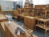 PINE FURNITURE - TABLES,CHAIRS, WARDROBES RUSTIC SHABBY CHIC FURNITURE