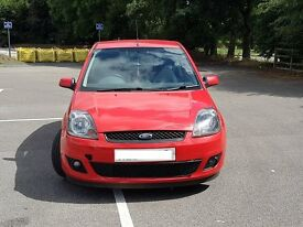 Ford Fiesta 2006 Red