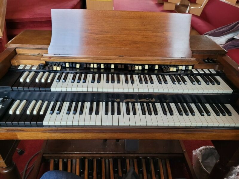Hammond Organ B3 Double Leslie Heavy Duty Cover Great Condition.
