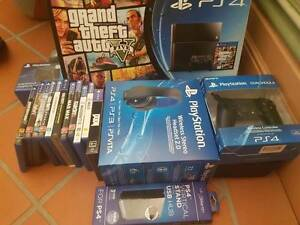 PS4 (2TB) Bundle; Scuf control, latest games, headphones + more Ascot Brisbane North East Preview