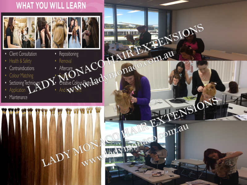 Start Your Own Hair Extension Business Lady Monaco Courses Melb