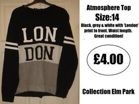 Size:14 Atmosphere Top