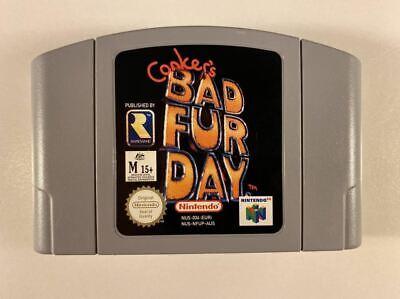 Conker's Bad Fur Day N64 VGC PAL