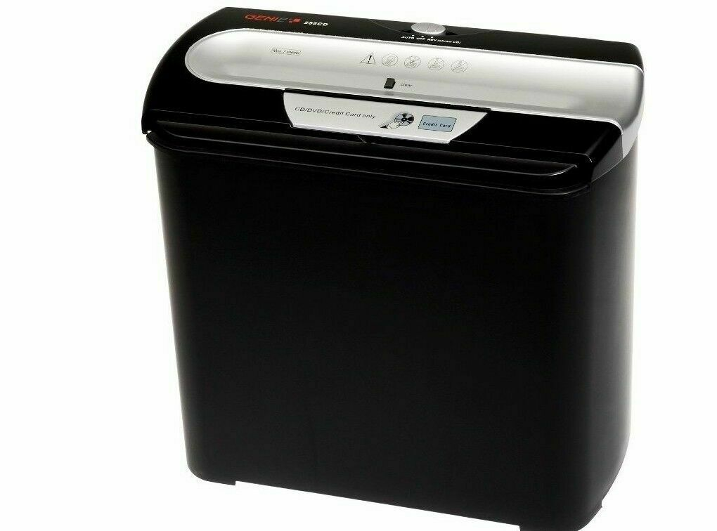 GENIE 255 Aktenvernichter CD Aufsatz Papierschredder Schredder Shredder Reißwolf