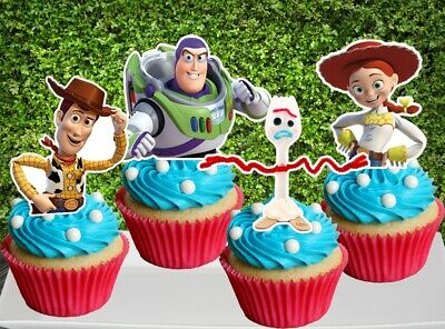 Toy Story 4 Cupcake Topper (12pcs)](Toy Story Cupcakes)