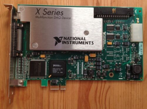 National Instruments NI PCIe-6351 Multifunction I/O Device