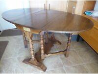 Gateleg Table - Solid Oak