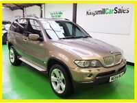 * 54Reg BMW X5 * 4.4 PETROL AUTOMATIC * FULL SERVICE HISTORY * ONLY 99K * ROAD TAX £295
