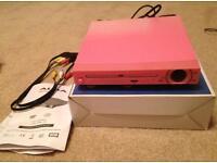 Alba Pink DVD Player