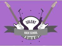 Guitar Lessons at Solent Rock School! Burridge & Whiteley Areas