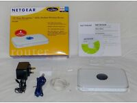 Netgear DG834PN 108Mbps RangeMax ADSL Modem Wireless Router - Like new, Cash on collection