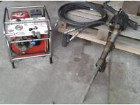 Concrete breaker 5.5HP Honda with Jack hammer