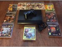 Sony PS3 500 GB Slim Games Consol