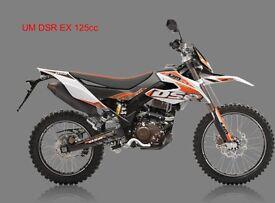 * Brand New 2017 * UM DSR EX 125cc . Warranty. Nationwide delivery. Main dealer: 23-05