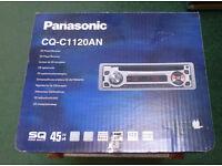 Panasonic CQ-C1120 AN CD/Radio 4x45W RDS Detachable front panel BOXED