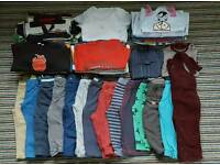 Baby boys clothes bundle 12-18 months 54 items