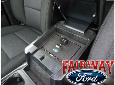 2020 Explorer OEM Genuine Ford Console Combination Security Vault Gun Safe