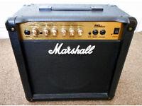 Marshall MG15cd practice amp