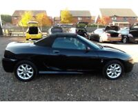 Convertible Black MG, good condition and reliable