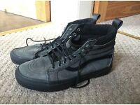 Van hi top shoes size 6.5