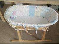 Used Baby Moses Basket - Free
