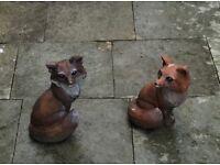 Fox Garden Ornaments