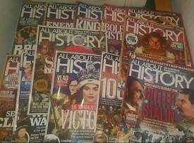 12 x All about History Magazine's
