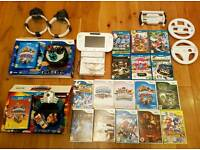 Wii U 8gb console with loads of extras