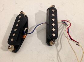Two Genuine Fender Stratocaster Pickups