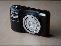 RRP £70 Nikon Coolpix L31 Digital Camera boxed with everything includes memory card ready to use