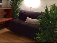 IKEA LYCKSELE LÖVÅS - Two-seat sofa-bed