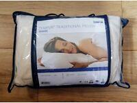 Brand New Petite Tempur Comfort Travel Pillow | Mini | Sleeping | Travelling | Sleep | Memory Foam
