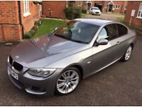 Stunning BMW 3 Series Coupe MSport, FSH, 44000 miles