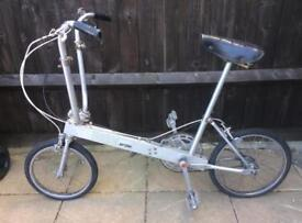 Bickerton retro folding bike