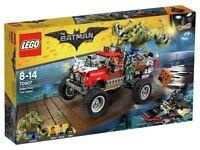 LEGO The Batman Movie Killer Croc Tail-Gator Playset BRAND NEW