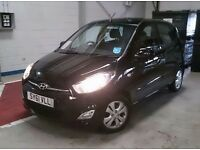 Black HYUNDAI I10 - 61 Plate - Just had MOT/Service & yearly tax renewed - £3200 - Open to offers
