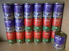 LILY'S KITCHEN Dog Food x19 tins - Senior Recipe & Beef, Potato & Vegetable - Wet Food