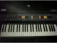 Farfisa Bravo Vintage 1980 Keyboard/Synthesiser rare